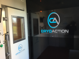 CryoAction Rental Cryotherapy Chamber
