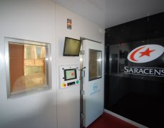 Saracens cryotherapy chamber