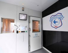 Cardiff City FC cryotherapy