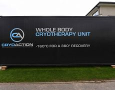 CryoAction cryotherapy for recovery