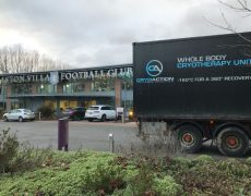 Aston Villa FC Cryotherapy