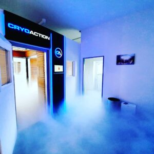 CryoAction whole body cryotherapy chamber