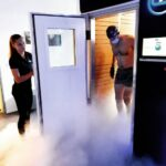 man coming out of CryoDuo
